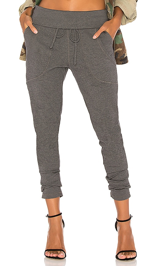Bobi Luxe Lounge Jogger in Gray