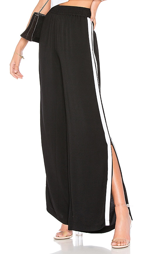 Bobi BLACK Track Pant in Black