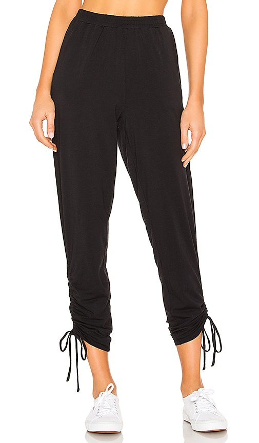 Draped Jersey Ruched Pant