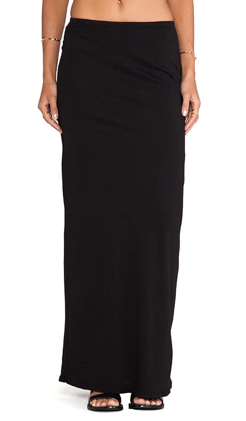 Light Weight Jersey Maxi Skirt
