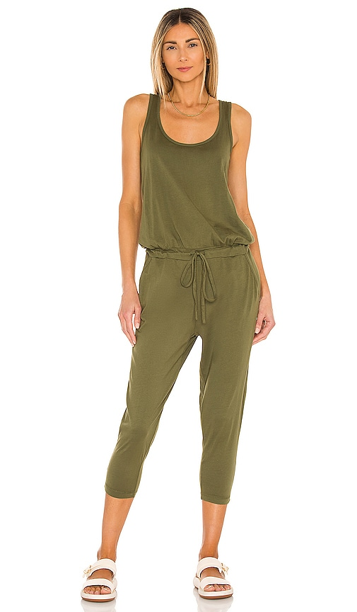 e74a4ac8337a Bobi Supreme Jersey Sleeveless Jumpsuit in Combat
