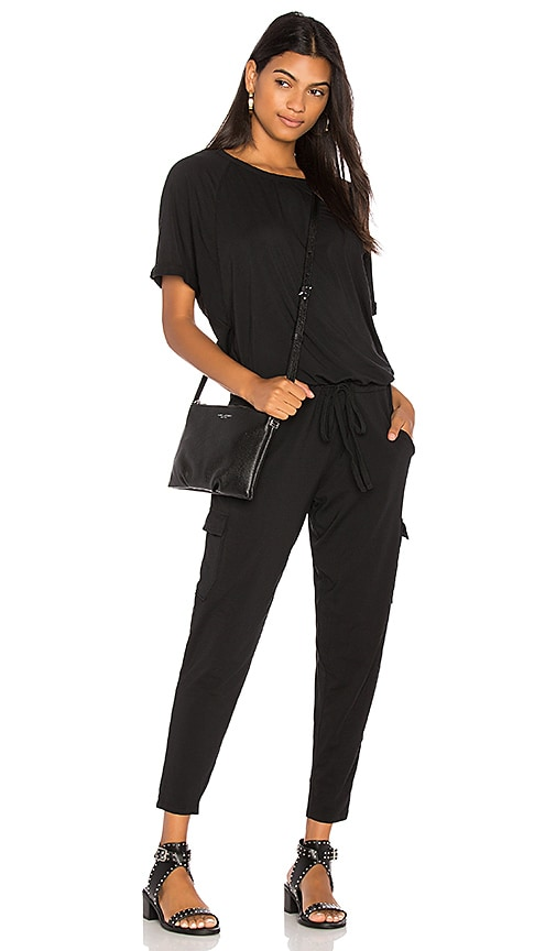 DRAPED SKINNY JUMPSUIT Bobi
