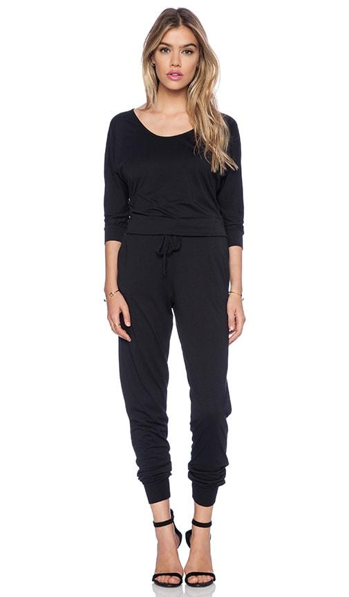 Modal Jersey Long Sleeve Jumpsuit