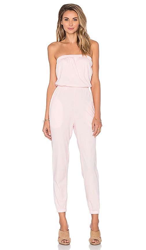 Supreme Jersey Strapless Jumpsuit