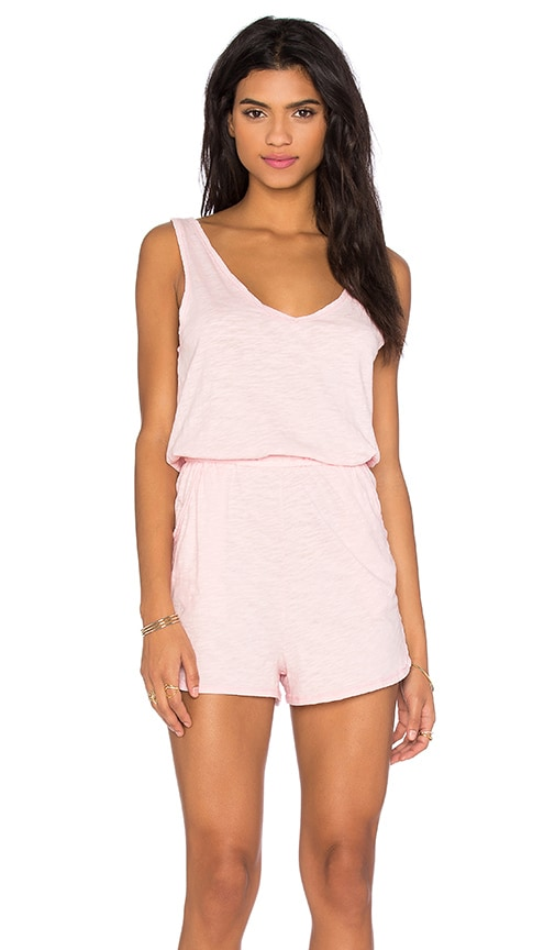 V Neck Sleeveless Romper