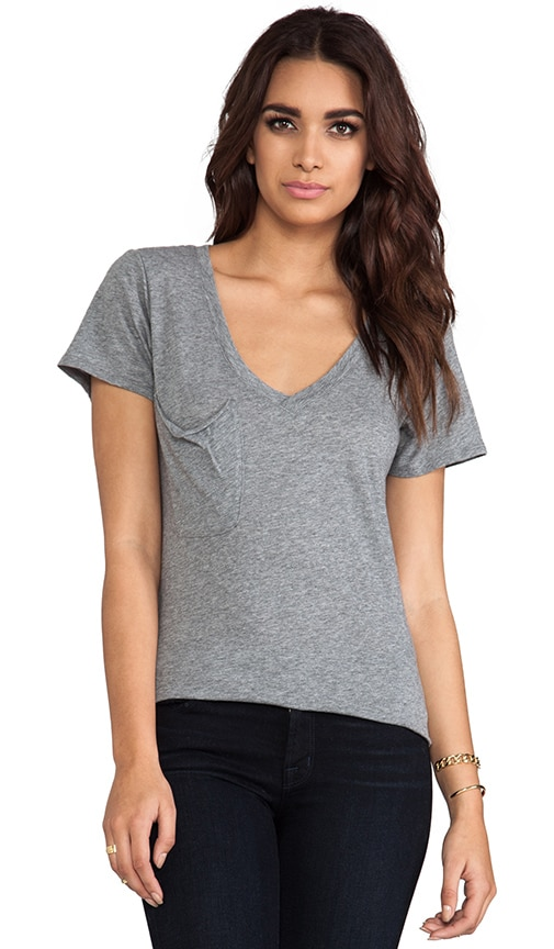 Light Weight Jersey V Neck Tee