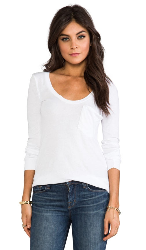 Lightweight Jersey Long Sleeve Pocket Tee