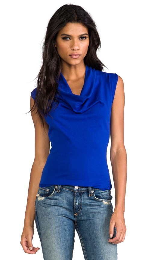 Light Weight Jersey Drape Neck Tank