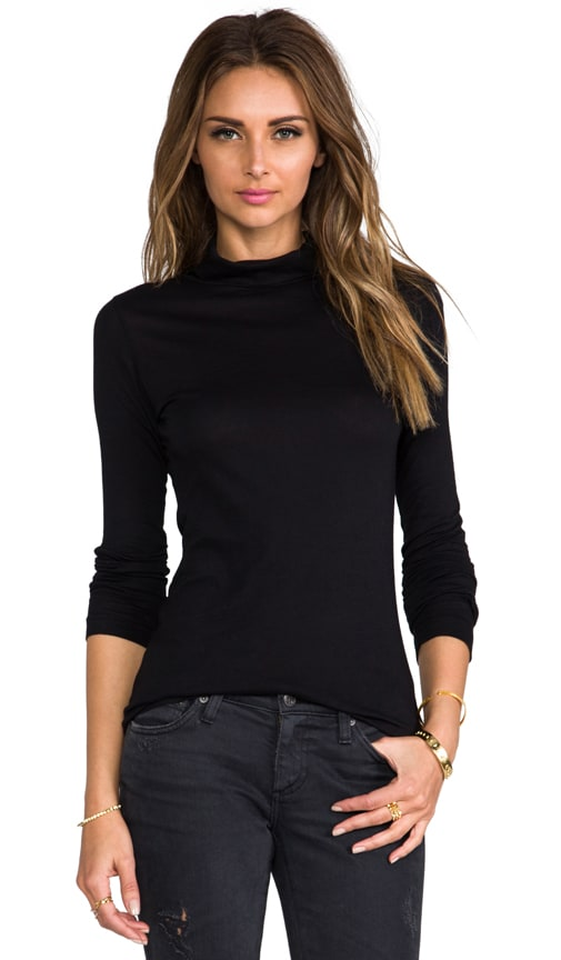 Light Weight Jersey Turtleneck