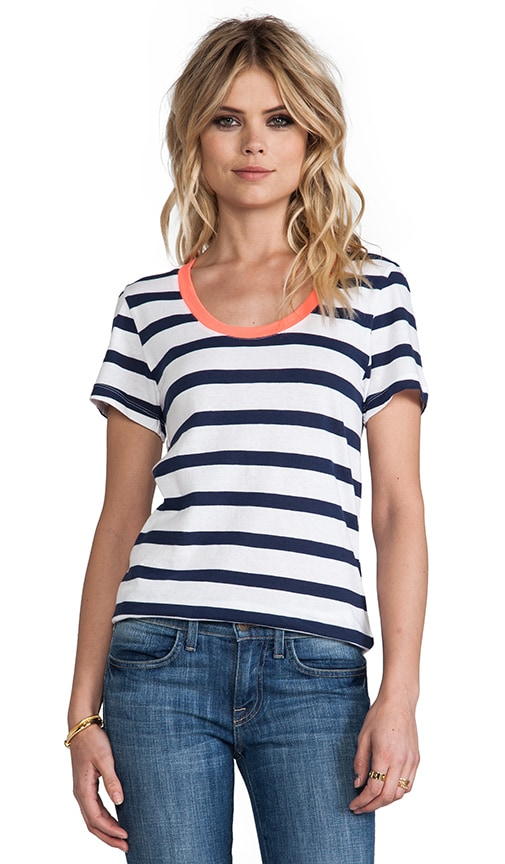 Light Weight Jersey Stripe Tee