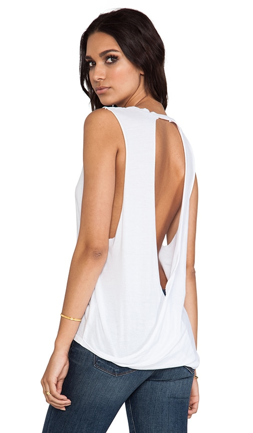 Light Weight Jersey Open Back Tank
