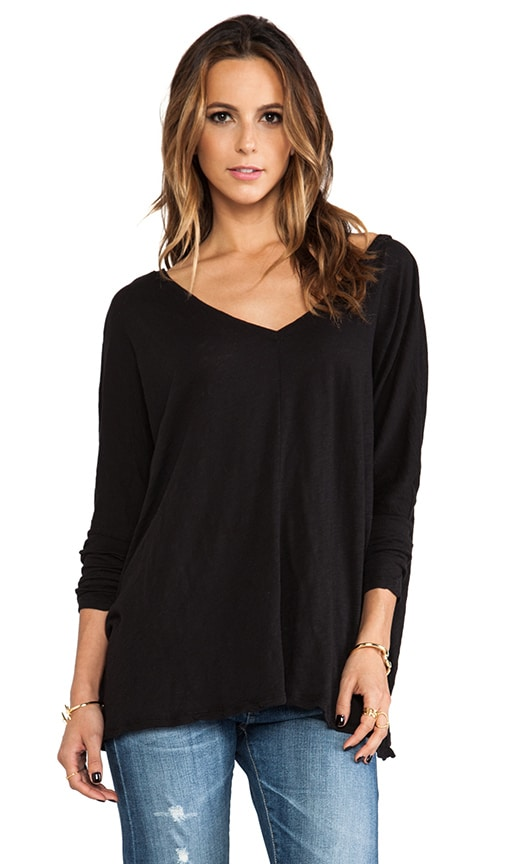 Cotton Slub Long Sleeve Dolman