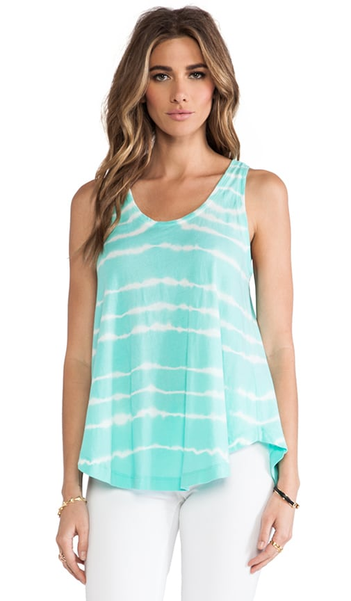 Light Weight Tie Dye Jersey Swing Tank
