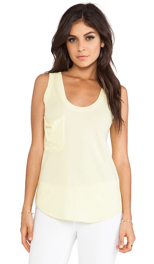 Light Weight Jersey Pocket Tank