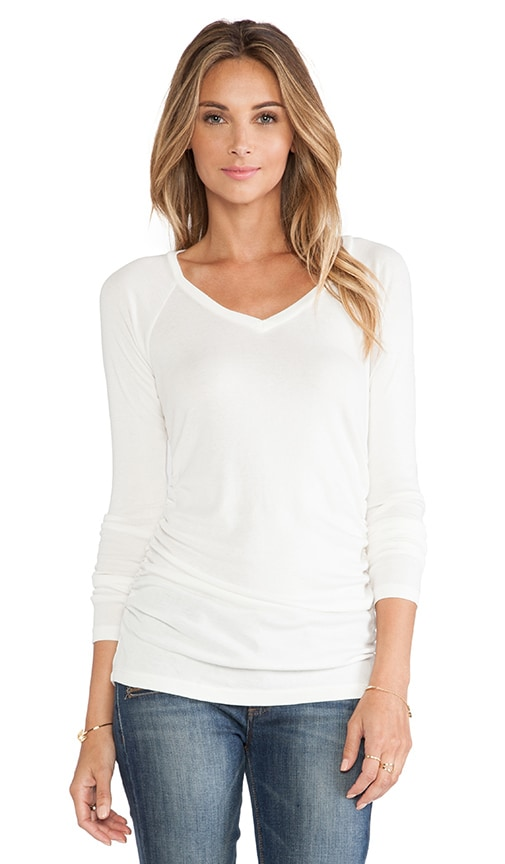 V Neck Long Sleeve Tee