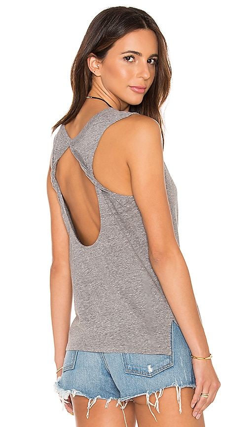 Speckled Jersey Open Back Tank