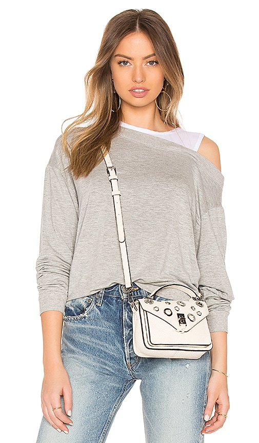 Bobi Terry Twofer Top in Gray
