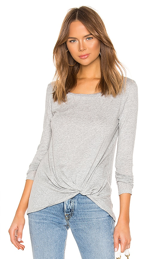 T-SHIRTS MANCHES LONGUES TWIST FRONT