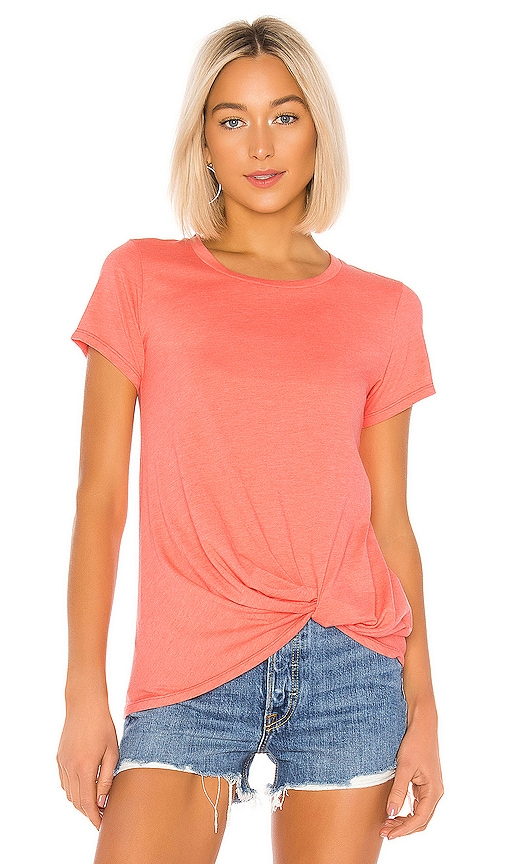 Vintage Jersey Knotted Tee