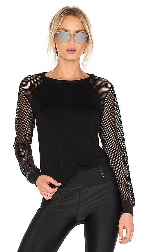 Body Language Madona Pullover in Black