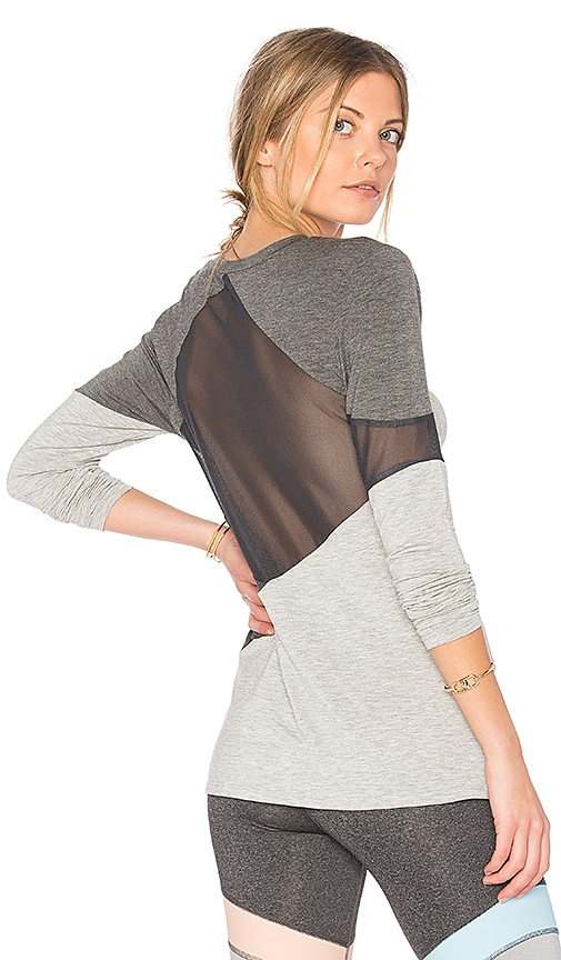 Body Language Aven Top in Gray