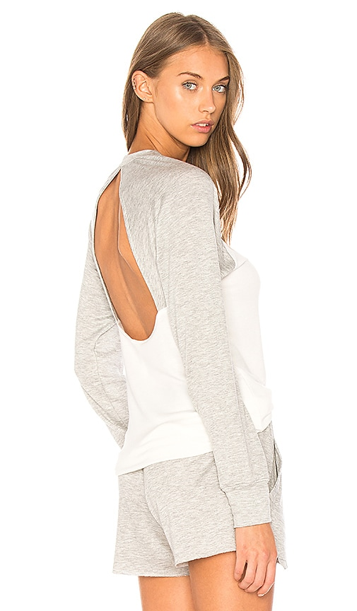 Body Language Seymour Pullover in Gray