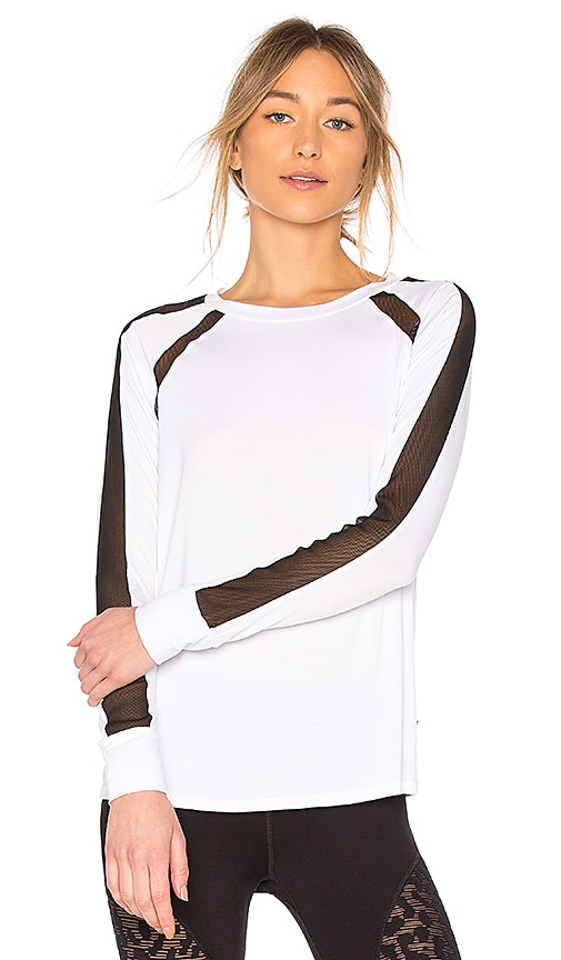 Body Language Lea Pullover in Black & White