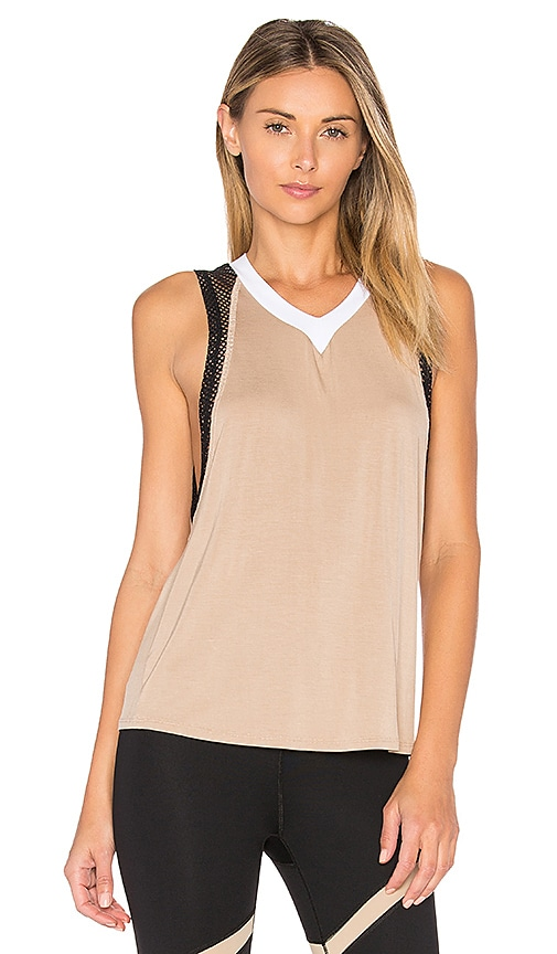 Body Language Pax Tank in Beige