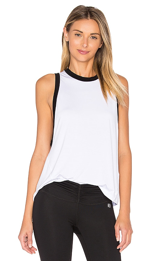 Body Language Mia Tank in White