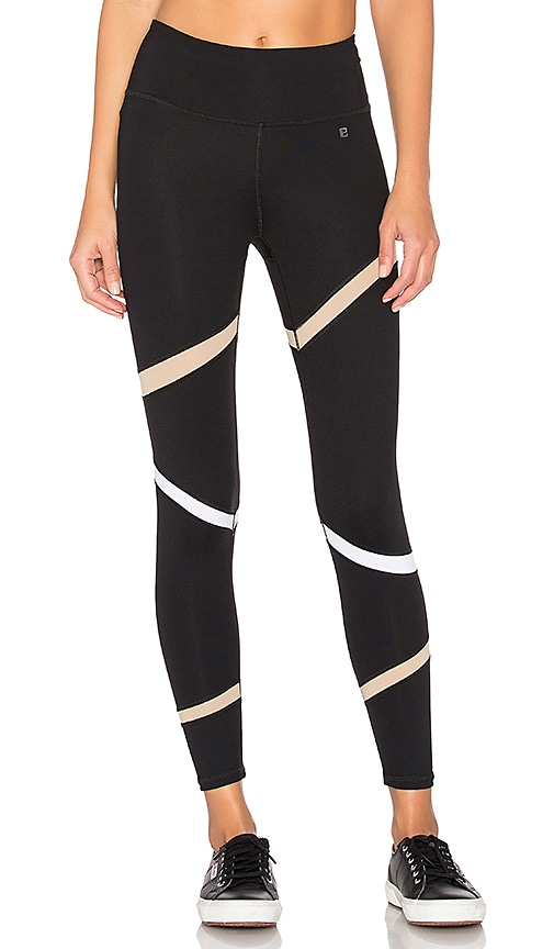 Body Language Slash Legging in Black