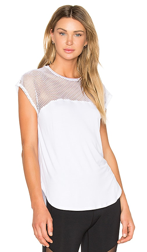 Body Language Luxe Tee in White