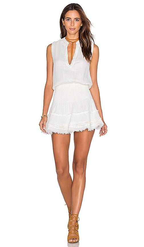 9e71390be919 boemo Smock Mini Dress in Eggshell | REVOLVE