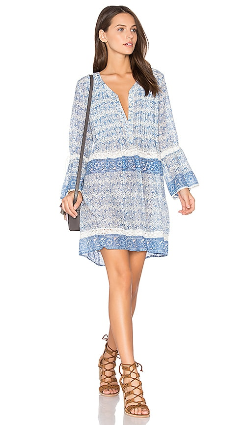 boemo Abaco Shirt Dress in Blue