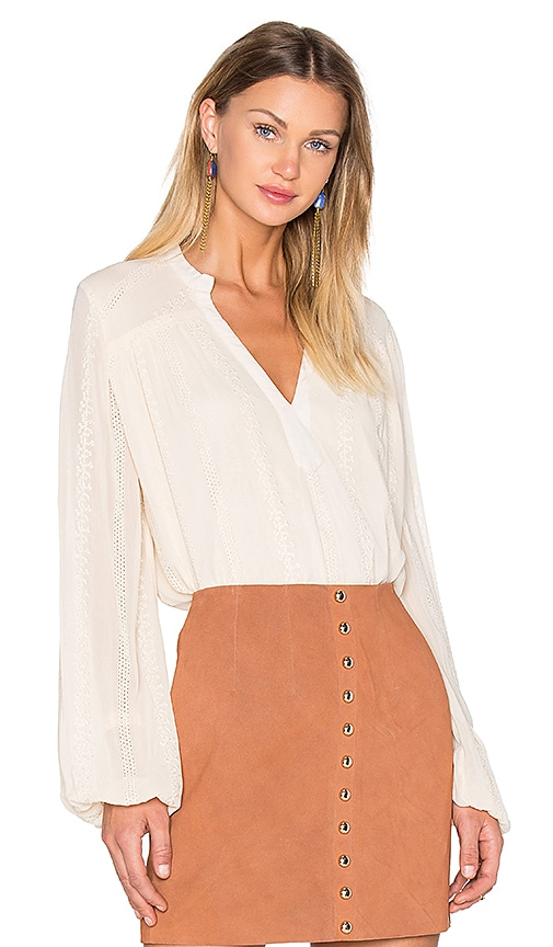 boemo Toulouse Swing Blouse in Ivory
