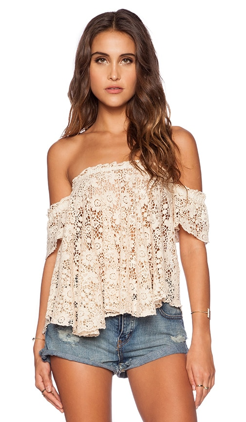 Frisco Lace Penelope Top
