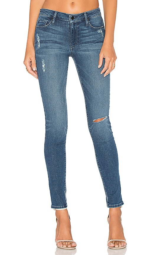 Black Orchid Jude Mid Rise Super Skinny in New Splash
