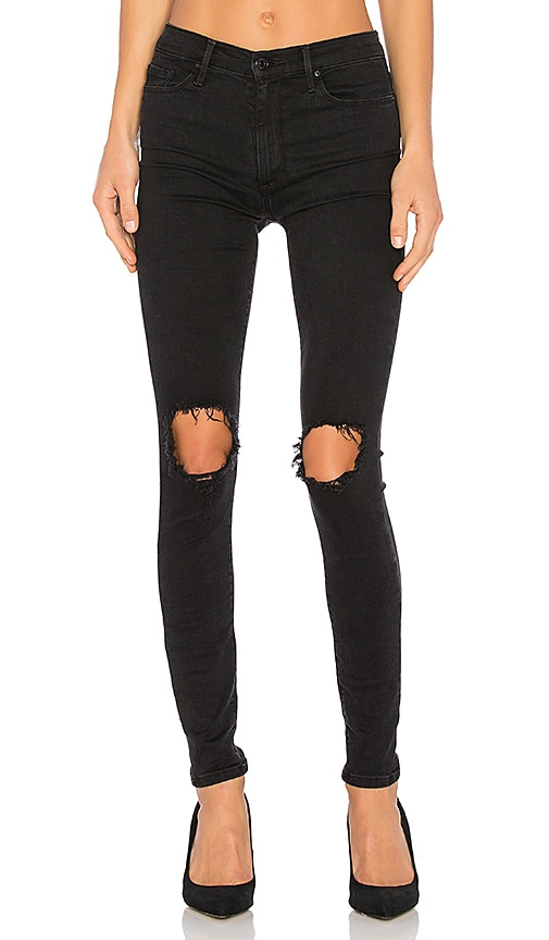 Black Orchid Gisele High Rise Super Skinny Jean in Last Call