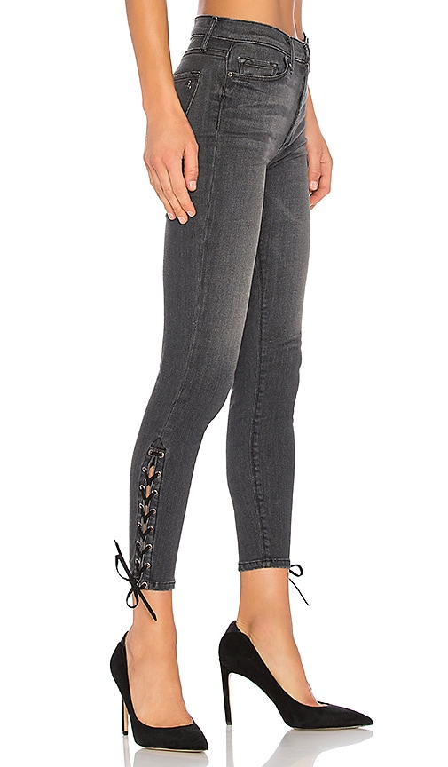Black Orchid Lara High Rise Skinny Jean in Hazey Daze