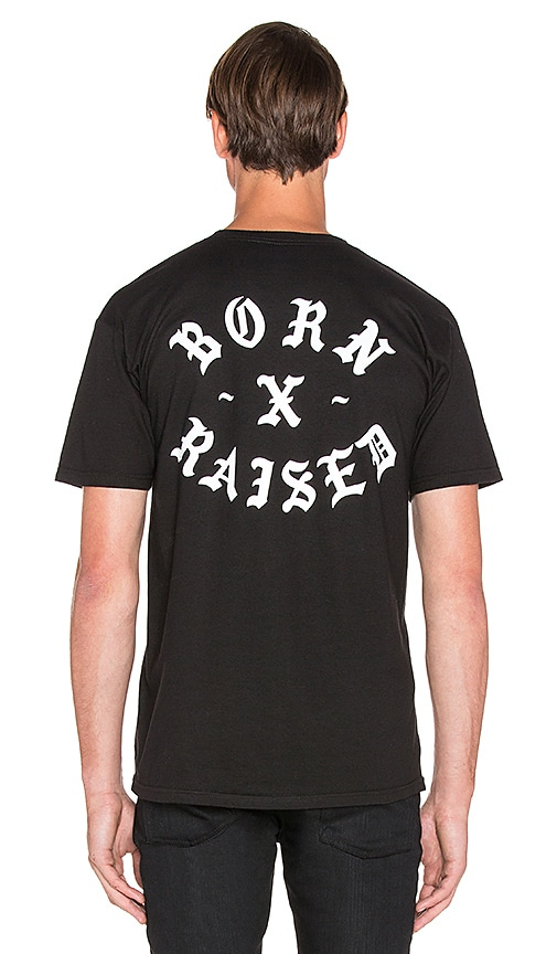 Born x Raised Snooty Fox Tee in Black