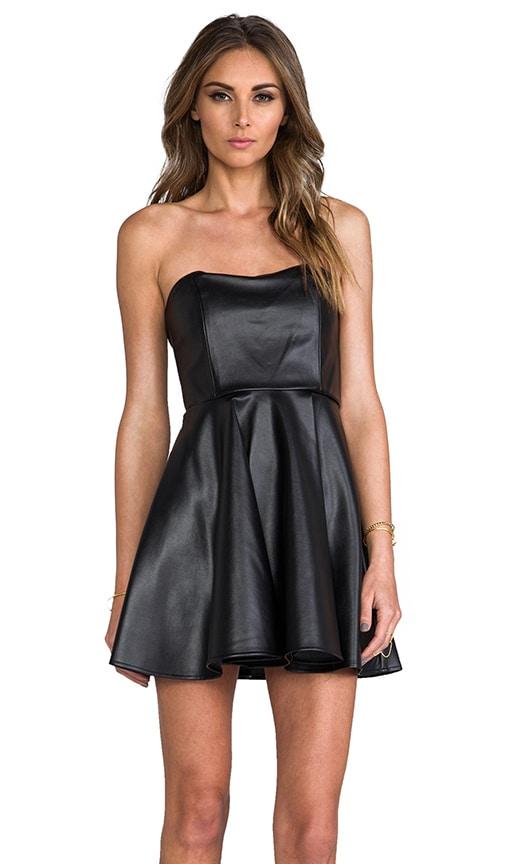 Haily Vegan Leather Dress