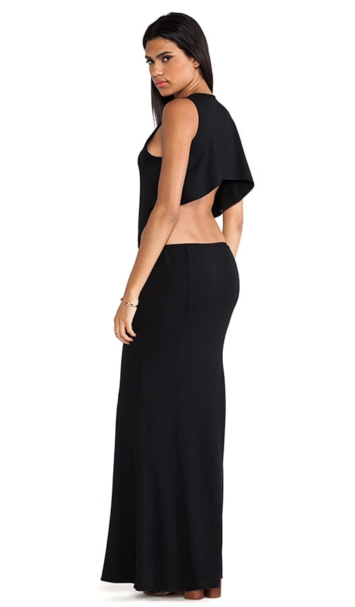 Cruz Open Back Maxi Dress