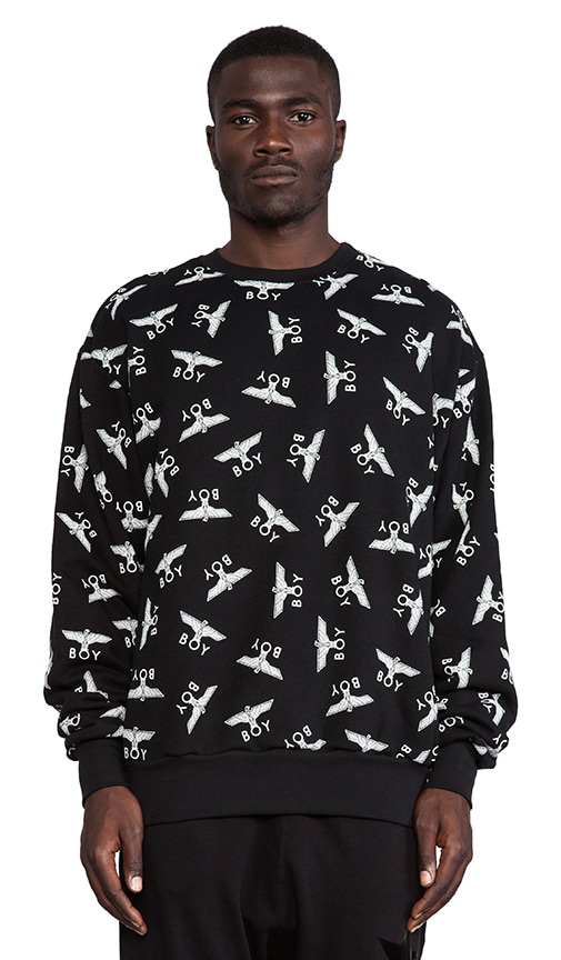 Allover Eagel Sweatshirt