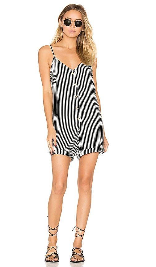 BOYS + ARROWS Feelin Floozy Romper in Black & White