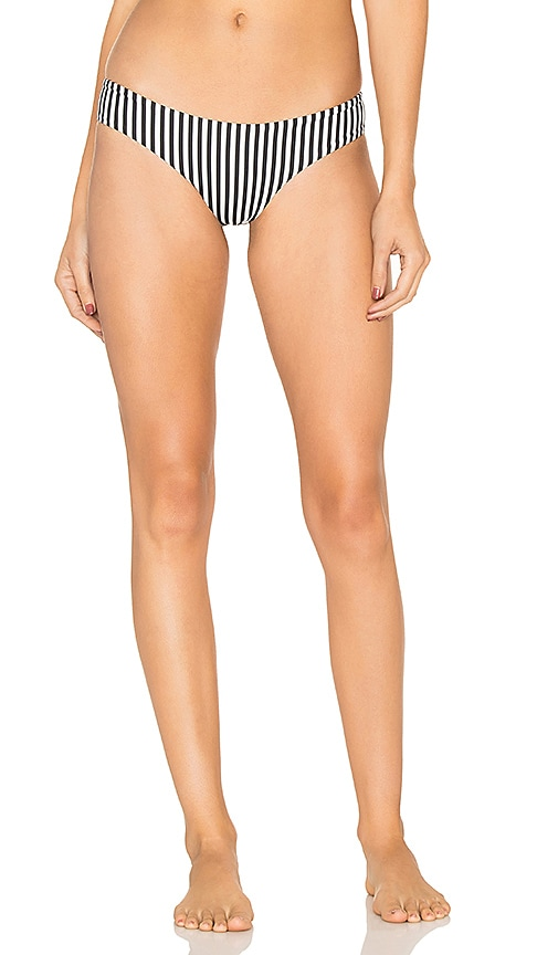 BOYS + ARROWS Clairee the Criminal Bikini Bottom in Black & White