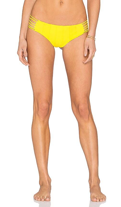 BOYS + ARROWS Shifty Sherman Bikini Bottom in Yellow