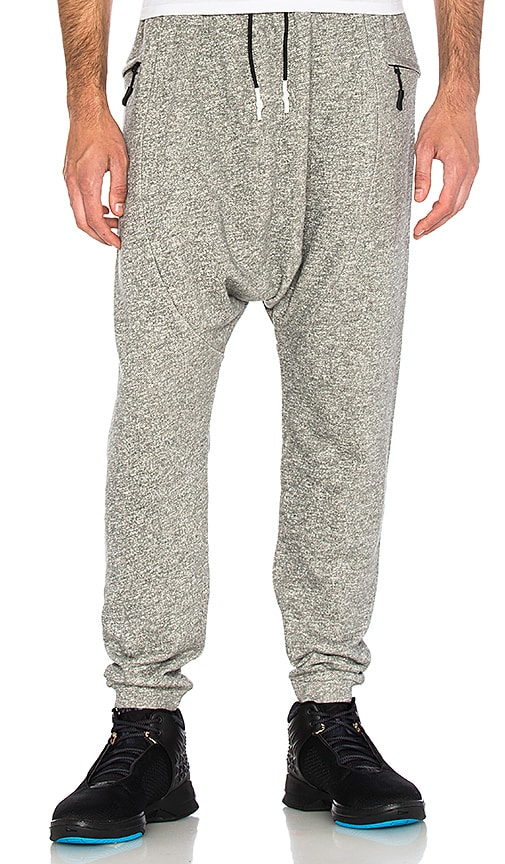Brandblack Shogun Fleece Pant in Gray