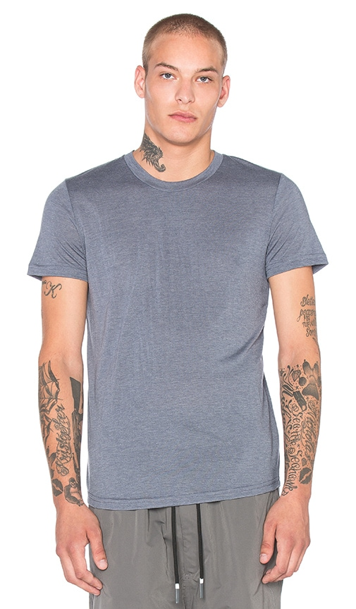 Brandblack Heather Tech Tee in Blue