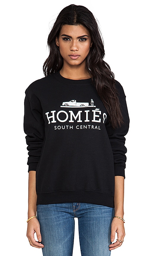 Popular Brian Lichtenberg Homies Sweatshirt in Black/White | REVOLVE AF32