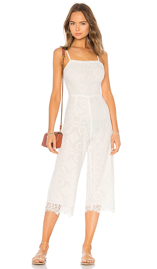 BEACH RIOT Savannah Jumpsuit in White