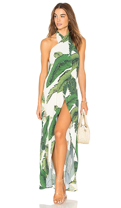 Beach Riot Salty Wrap In Palm Revolve